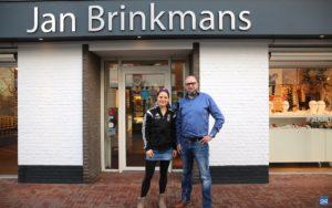 Brinkmans sponsor Maaike Caeyers Gaan voor Goud